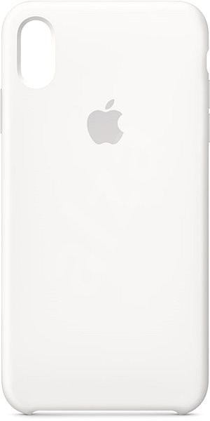 iPhone XS Max Silicone Cover White - Mobile Case