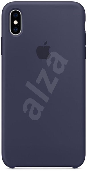 iPhone XS Max Silicone Cover Midnight Blue - Mobile Case