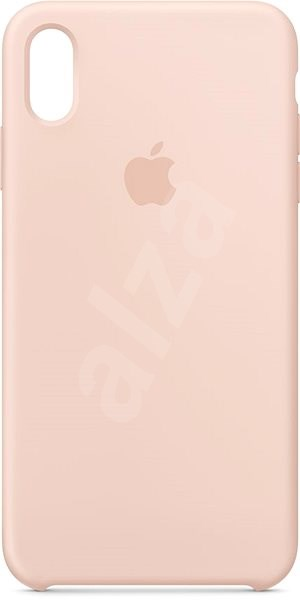 iPhone XS Max Silicone Cover Pink Sand - Mobile Case