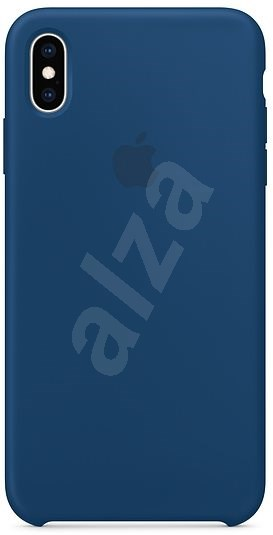 iPhone XS Max Silicone Cover Blue Horizon - Mobile Case