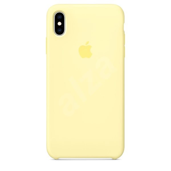 iPhone XS Max Silicone Case canary yellow - Mobile Case