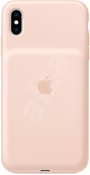 iPhone XS Max Battery Case Pink Sand - Charger Case