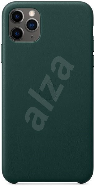 Apple iPhone 11 Pro Max Leather Cover, Pine - Mobile Case