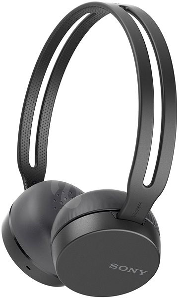 Sony WH-CH400 Black - Headphones with Mic