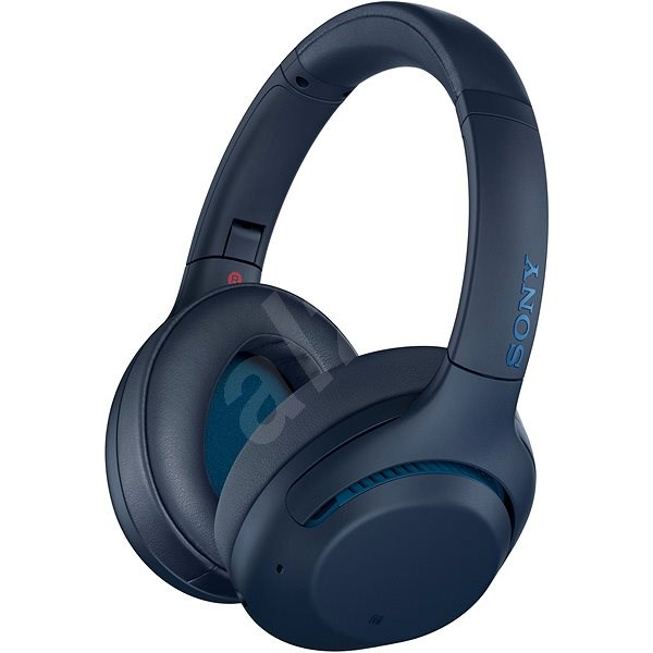 Sony WH-XB900N blue - Headphones with Mic