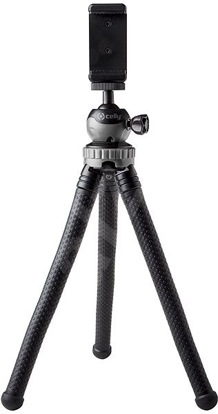 CELLY Flexible Tripod Black - Tripod