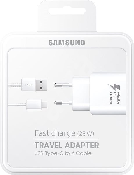 Samsung EP-TA300C 25W Charger Black - Charger