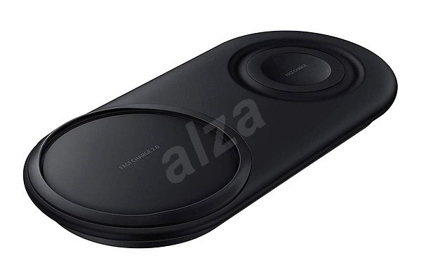Samsung Dual Wireless Charging Pad EP-P5200TBEGWW Black - Wireless charger