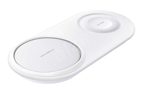 Samsung Dual Wireless Charging Pad EP-P5200TWEGWW White - Wireless charger