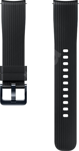Samsung Galaxy Watch Silicone Band (22mm) Black - Watch band