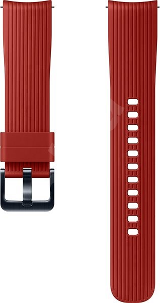 Samsung Galaxy Watch Silicone Band (20mm) Red - Watch band