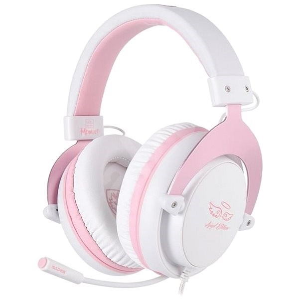 Sades Mpower Angel Edition (Pink) - Gaming Headset