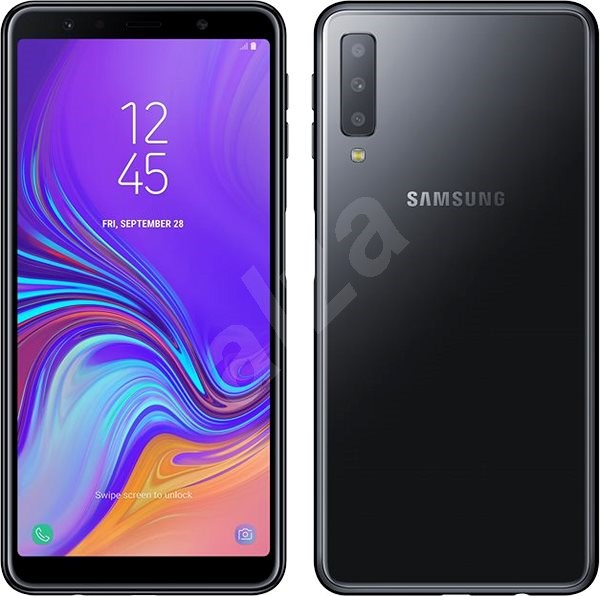 Samsung Galaxy A7 Dual SIM black - Mobile Phone