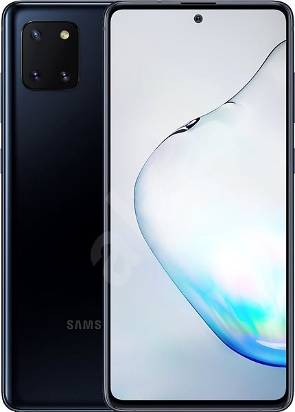 Samsung Galaxy Note 10 Lite, Black - Mobile Phone