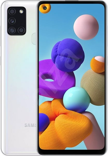 Samsung Galaxy A21s 64GB White - Mobile Phone