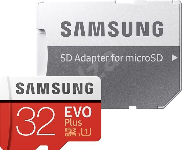 Samsung MicroSDHC 32GB EVO Plus + SD Adapter - Memory Card