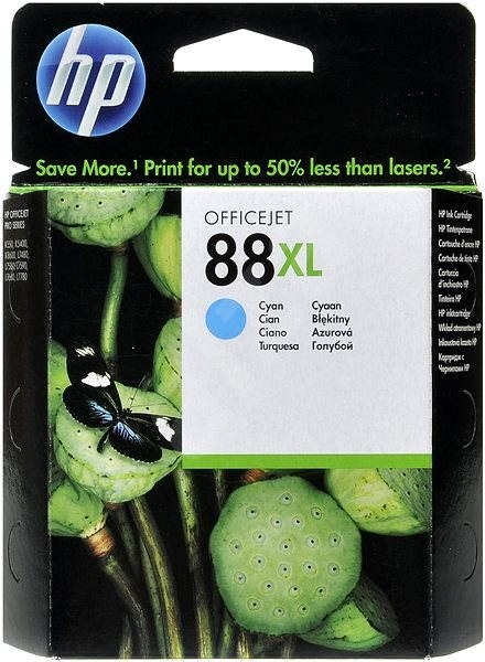 HP 88XL High Yield Cyan Original Ink Cartridge (C9391AE) - Cartridge