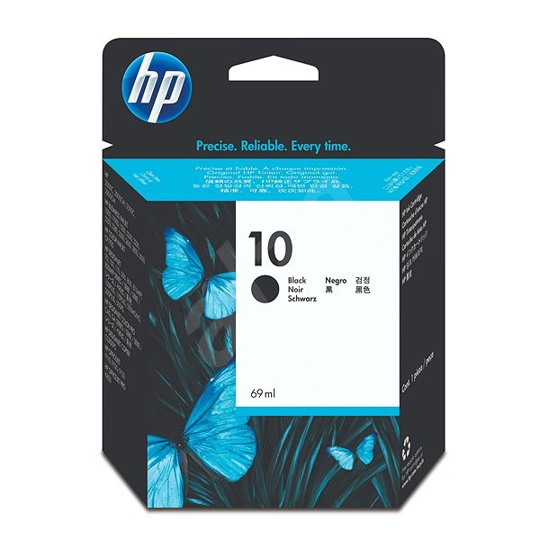 HP 10 Black Original Ink Cartridge (C4844A) - Cartridge
