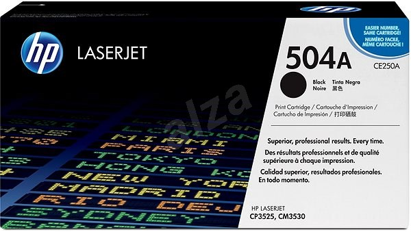 HP CE250A Black - Toner