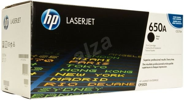 HP CE270A 650A Black - Toner