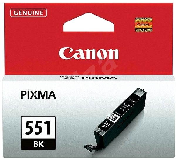 Canon CLI-551BK Black Ink Cartridge - Cartridge