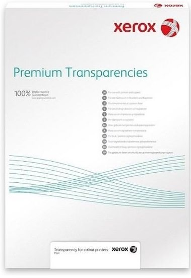 XEROX Plain Transparency for Mono, A4, 100µ, 100 sheets - Iron-On Transfers