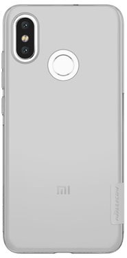 Nillkin Nature TPU for Xiaomi Mi8 Grey - Mobile Case
