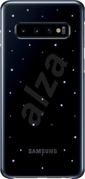Samsung Galaxy S10 LED Cover Black - Mobile Phone Case