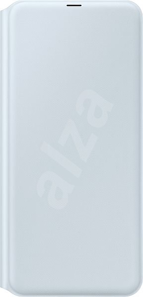 Samsung A70 Flip Wallet Cover White - Mobile Phone Case