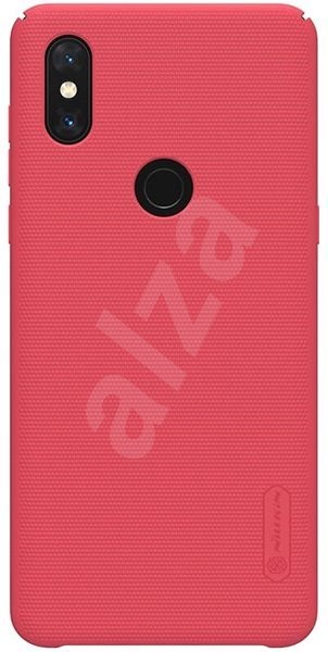 Nillkin Frosted Rear Cover for Samsung Galaxy S10+ Red - Mobile Case
