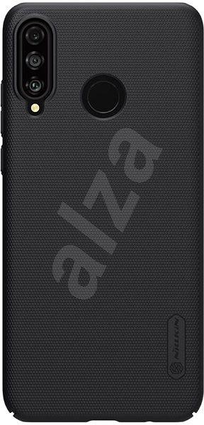 Nillkin Frosted Back Cover for Huawei P30 Lite black - Mobile Case