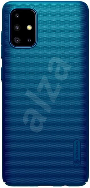 Nillkin Frosted Back Cover for Samsung Galaxy A71 Blue - Mobile Case