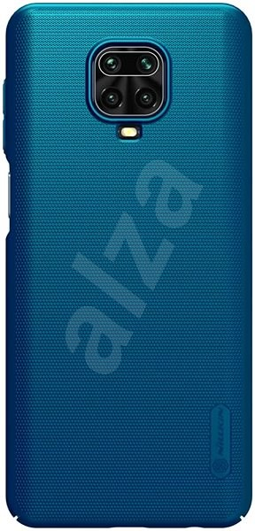 Nillkin Frosted for Xiaomi Redmi Note 9 Pro/Pro MAX/9S, Peacock Blue - Mobile Case