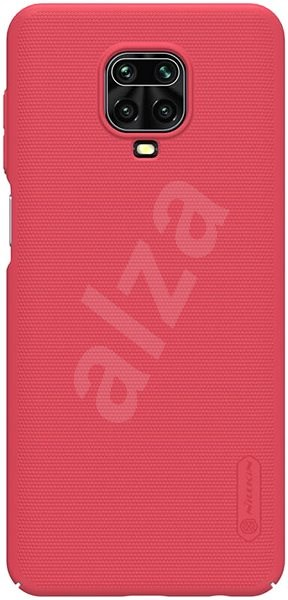 Nillkin Frosted for Xiaomi Redmi Note 9 Pro/Pro MAX/9S, Red - Mobile Case