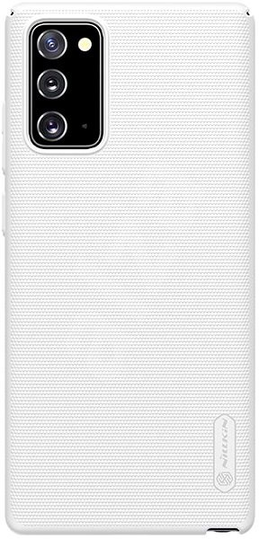 Nillkin Frosted Back Cover for Samsung Galaxy Note 20, White - Mobile Case