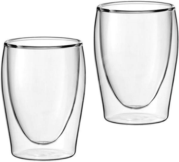 Scanpart Thermo coffee cups - Espresso, 2pcs - Glass for Hot Drinks