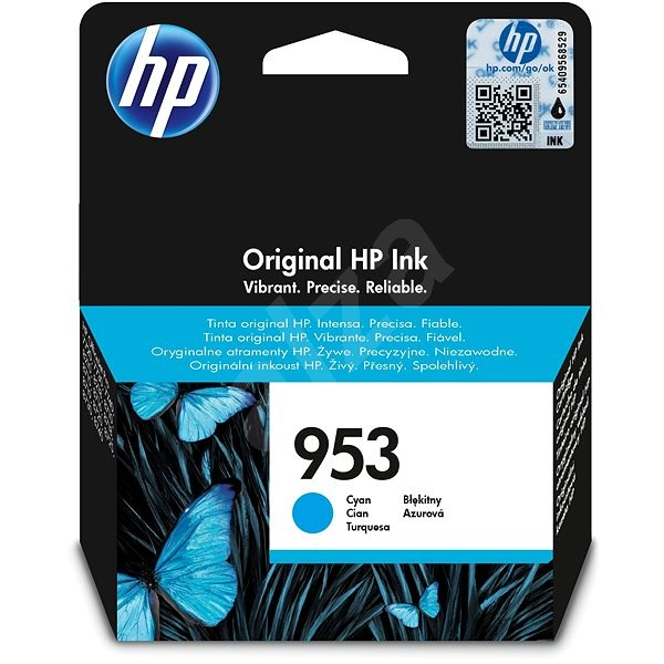 HP 953 Cyan Original Ink Cartridge (F6U12AE) - Cartridge