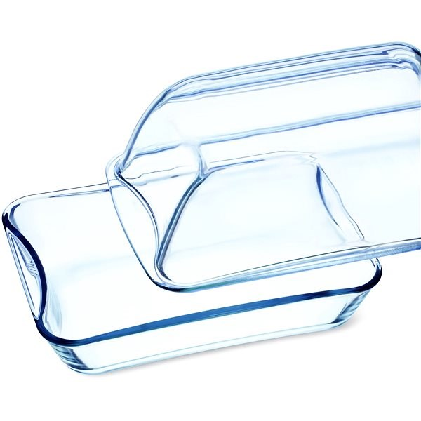 SIMAX Clear Oblong Glass Casserole 8.6l - Roasting Pan