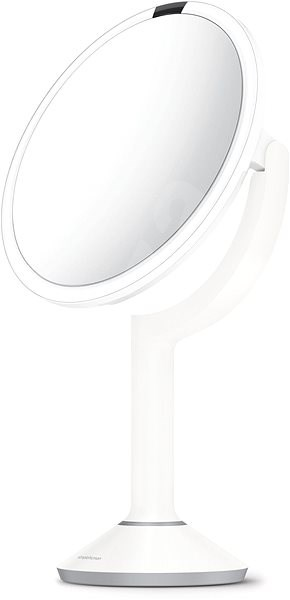 Simplehuman Sensor TRIO with LED lighting, white stainless steel - Makeup Mirror