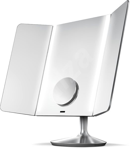 Simplehuman Sensor PRO Wide Viev with LED lighting, brushed stainless steel - Makeup Mirror