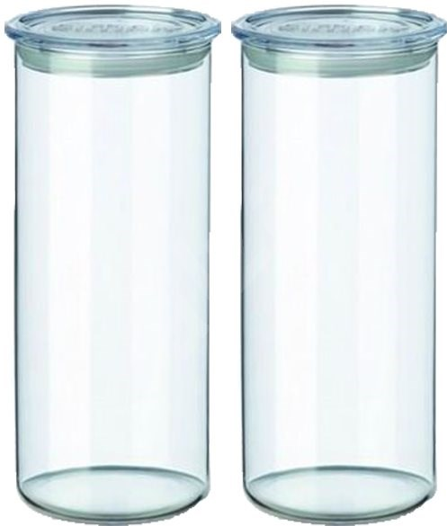 SIMAX Set of Clear Glass Jars, 2pcs, 1.4l,  5142/L - Container