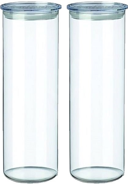 SIMAX Set of Clear Glass Jars, 2pcs, 1.8l, 5132/L - Container