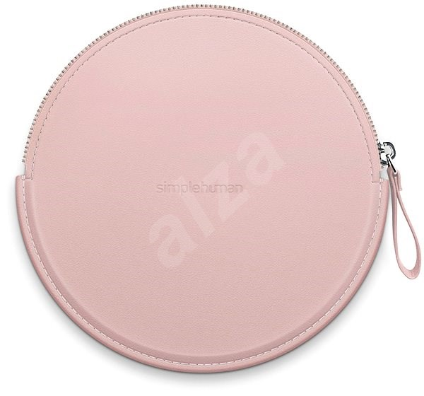 Simplehuman Sensor Compact Zip Case Pink Case with Zip for Pocket Mirrors ST9005 - Case