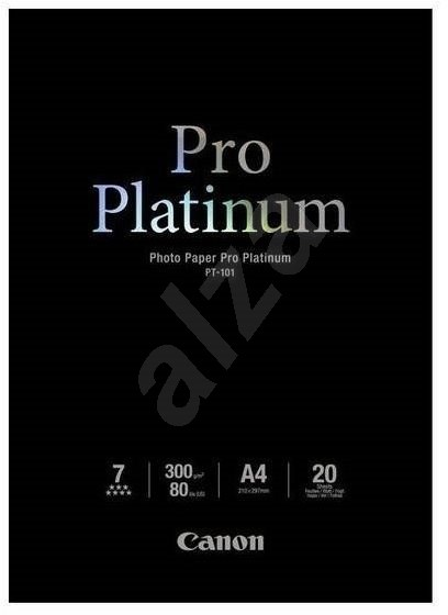 Canon PT-101 A4 Pro Platinum Glossy - Photo Paper