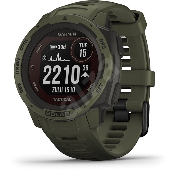 Instinct Solar, Tactical Moss - Smartwatch