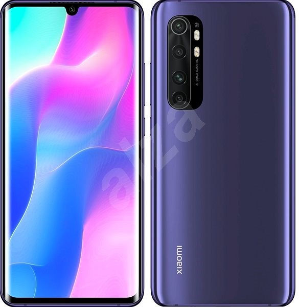 Xiaomi Mi Note 10 Lite LTE 128GB, Purple - Mobile Phone