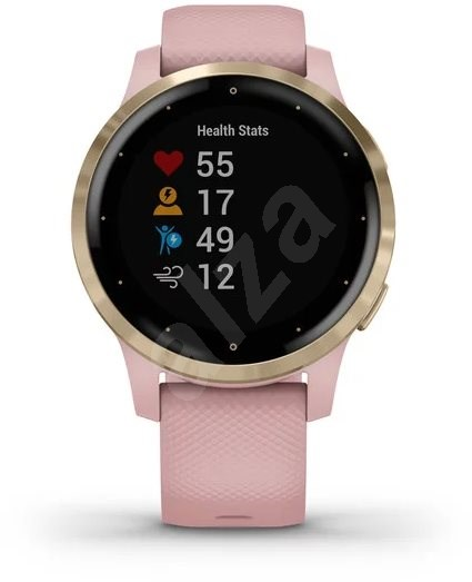 Garmin Vivo Active 4S LightGold Pink - Smartwatch
