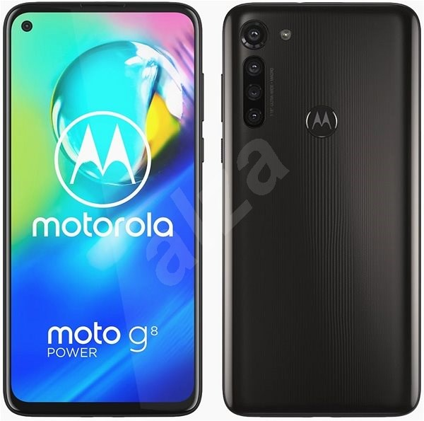 Motorola Moto G8 Power, Black - Mobile Phone