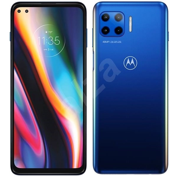 Motorola Moto G 5G Plus, Blue - Mobile Phone