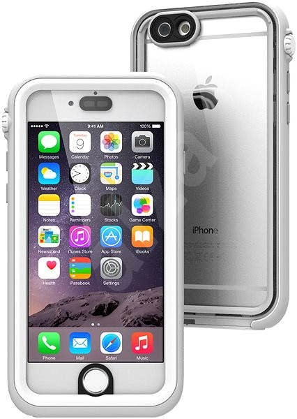 Catalyst Waterproof White Grey iPhone 6/6s - Mobile Phone Case
